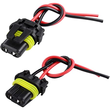 Details about  /Extension Wire Pigtail Female Ceramic 9040 Fog Light Harness Bulb Socket Plug
