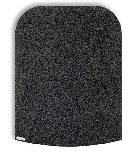 Stone4Slide coolina® Gleitbrett Gleiter aus Granit Padang Grey passend für Thermomix TM6 TM5 TM31