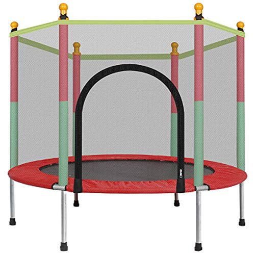 Yu$iOne Kids Trampoline With Safety , Indoor Outdoor Trampoline For Adults&Kid Toddler Trampolines, For Family Garden Trampolines