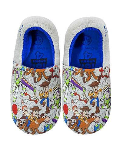 Toy Story 4 por Todo la impresión de Kid Multicolor Zapatillas de casa (12-13 UK Kids)