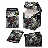 Breena The Demagogue, Strixhaven PRO 100+ Deck Box and 100ct Sleeves Featuring Silverquill for Magic: The Gathering