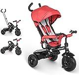 besrey Triciclo evolutivo 4 en 1 triciclos bebé Trike Bicicleta para Bebe Nino...
