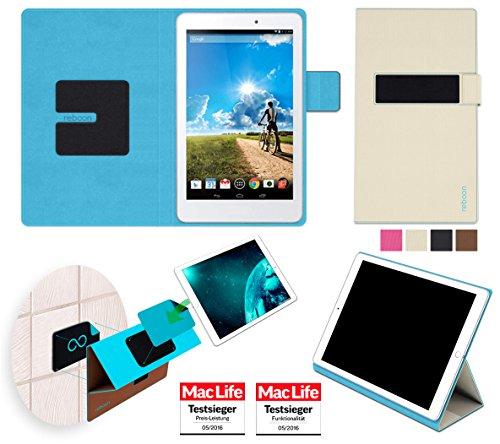 Hülle für Acer Iconia Tab 8 Tasche Cover Hülle Bumper | in Beige | Testsieger