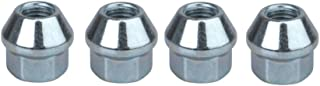 Tusk OEM Style Tapered Chrome Lug Nut 10mm x 1.25mm Thread Pitch (4 pack) for Honda ATC 250R 1983-1986