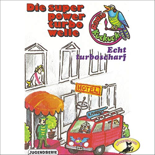 Echt turboscharf cover art