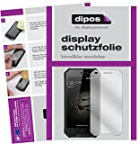 dipos I 2X Schutzfolie klar kompatibel mit Blackview BV4000 Pro Folie Bildschirmschutzfolie