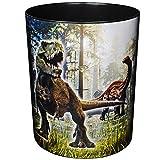 Papierkorb / Behälter - Dinosaurier - Dino T-Rex - 12,5 Liter - wasserdicht - aus Kunststoff - 30 cm - großer Mülleimer / Eimer - Abfalleimer - Aufbewahrungsb..