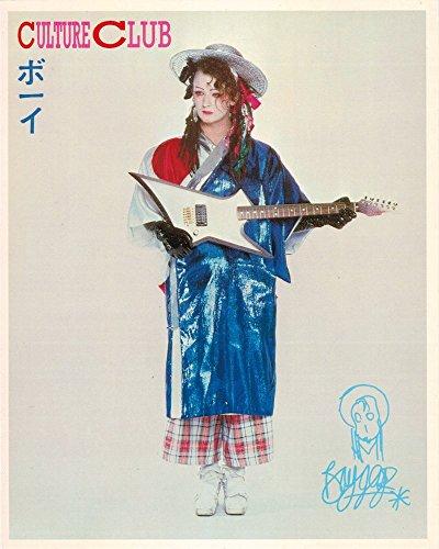 Boy George Culture Club Asian Style Portrait Vintage 80s 8' x 10' Photograph