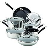 Circulon 78003 Momentum Stainless Steel Cookware Pots and Pans Set, 11 Piece