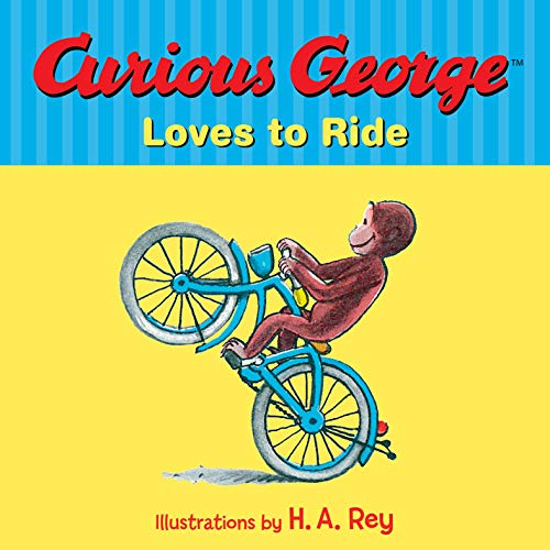 Curious George Loves to Ride (English Edition)