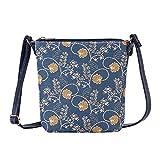 Signare Tapestry Small Crossbody Bag Sling Bag for Women with Jane Austen Design (SLING-AUST)