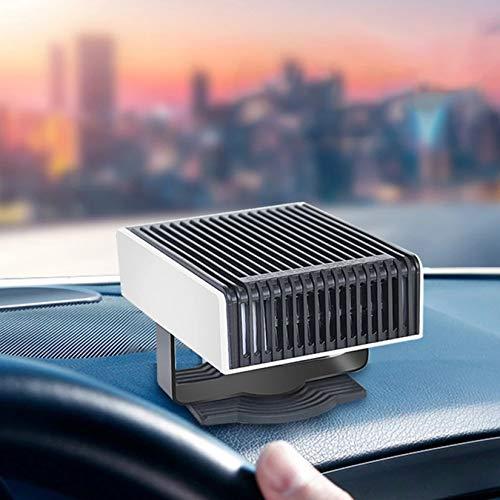 enomaa Sbrinatore per Auto, riscaldatore per Auto 2 in 1, sbrinatore per Auto, sbrinatore per Parabrezza, riscaldatore per Auto Portatile 12V, Prodotti per linverno per Auto