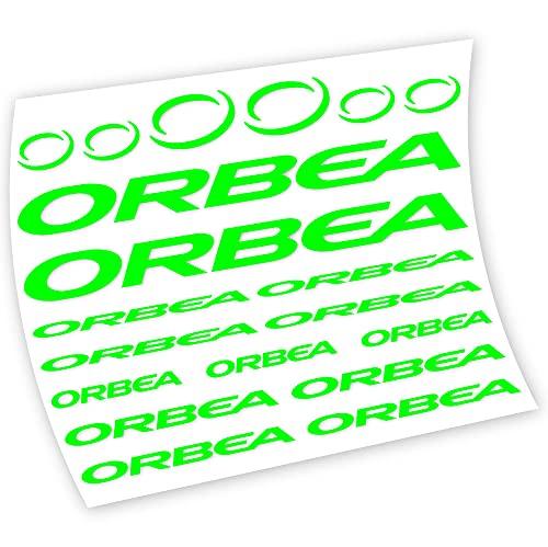 Orbea Pegatinas en Vinilo Adhesivo Cuadro (NG - Néon Green)