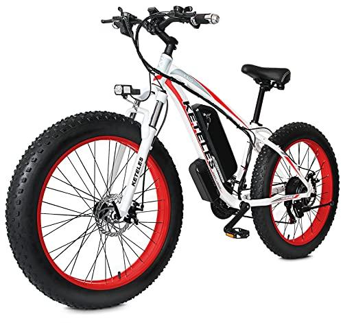 """26"""" E-Bike Bicicletas Electricas de Montaña, 48v 17.5A Bici Electrica para Adultos, Bike Electric Sistema de Transmisión de 21 Velocidades"""