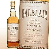 バルブレア 31年 BALBLAR 1979 700ml