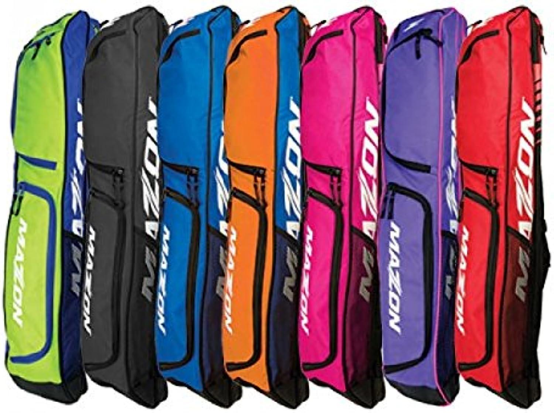 (Lime bluee)  Mazon ZForce Combo Field Hockey Stick Bag