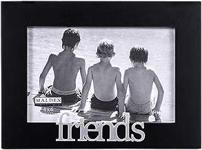 Malden International Designs Friends Expressions Picture Frame, 4x6, Black