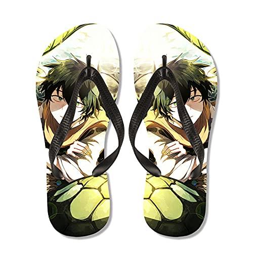 My Hero Academia Anime Chanclas de dibujos animados / Pantuflas de piscina de verano / Chanclas de ducha / Chanclas de dibujos animados para mujeres Interior del hogar Verano / Antideslizantes Suaves