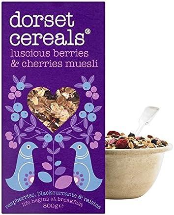 ドーセット穀物ベリー&チェリーミューズリーの800グラム (x 6) - Dorset Cereals Berries & Cherries Muesli 800g (Pack of 6) [並行輸入品]