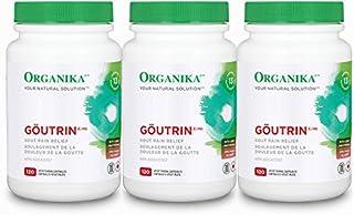 Goutrin THREE BOTTLES -Uric Acid Neutralizer for Gout (3x120 = 360 Capsules) Brand: Organika