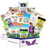 Organic Snack Box Care Package- Assortment Of All Certified Organic Healthy Snack Bars, Cookies,...