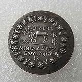 Monedas conmemorativas YunBest de moneda griega antigua, dólares de plata, moneda de plat...