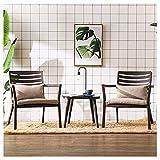 DGDF Sofá perezoso marrón ocio silla sofá perezoso creativo moda silla...