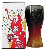 Coca Cola & Mc Donald´s - Fifa Worldcup Russia 2018 - Schwarz Rot Gold - Glas 0,3 l.