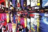 1art1 New York - Times Square, Farbenmeer Poster 91 x 61 cm