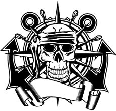 Tianpengyuanshuai doodshoofd-kompas sticker dood h...