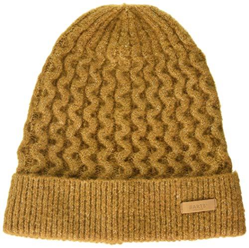 Barts Damen Patina Beanie Baskenmütze, Gelb (Ochre 0020), One Size (Herstellergröße: Uni)