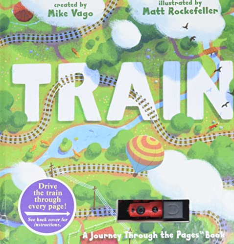 Train(Journey Through the Pages Book) by Mike Vago