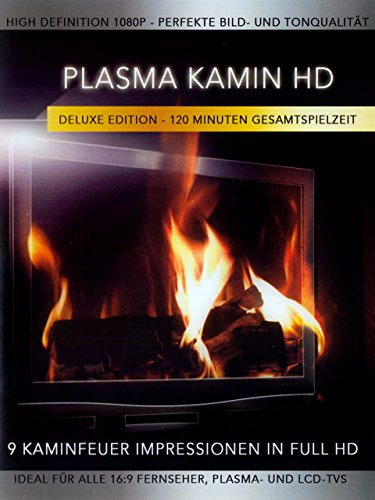 Plasma Kamin HD - 9 Kaminfeuer Impressionen in High Definition