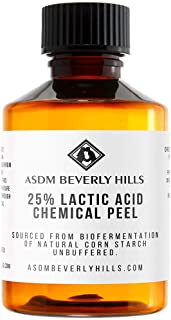 ASDM Beverly Hills Lactic Acid 25% Chemical Peel Treatment For Unisex Adults, Clear, Unscented, 2 Ounce 60 Milliliter-1