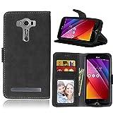 Pour téléphone cas et couverture Pour Asus ZenFone 2 Laser ZE500KL Étui portefeuille en cuir de...