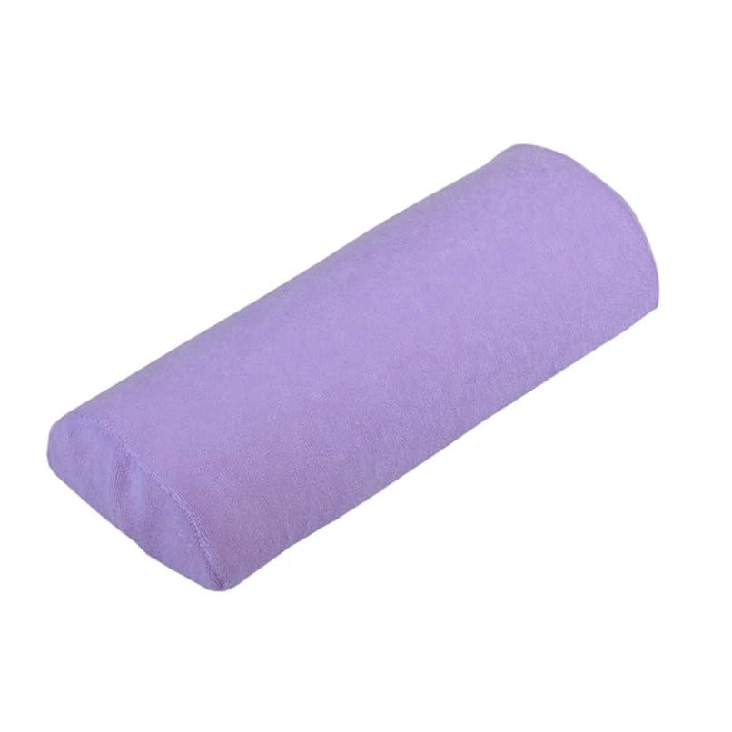 ようこそ明らかに設置Yuelian(TM) 手の枕 ネイルアートネイル用 ハンドピロー ジェルネイルまくら ネイル枕 (5 ライトパープル)