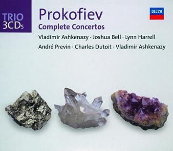 Prokofiev: The Piano Concertos/Violin Concertos etc