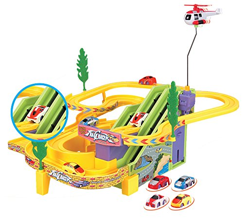 Liberty Imports - New Edition - Track Racer Race Cars Fun Toy Playset for Kids -...