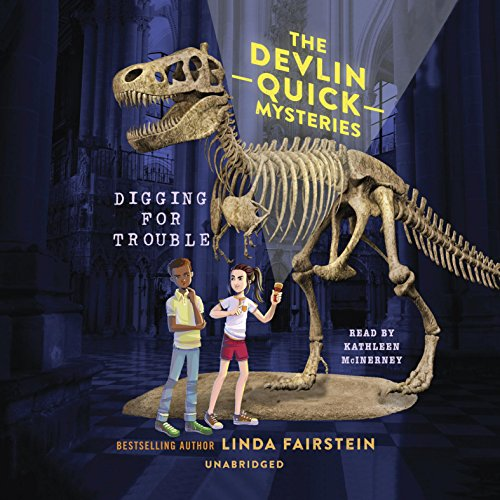 Digging for Trouble audiobook cover art