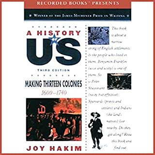 Making Thirteen Colonies: A History of US, Book 2 audiobook cover art
