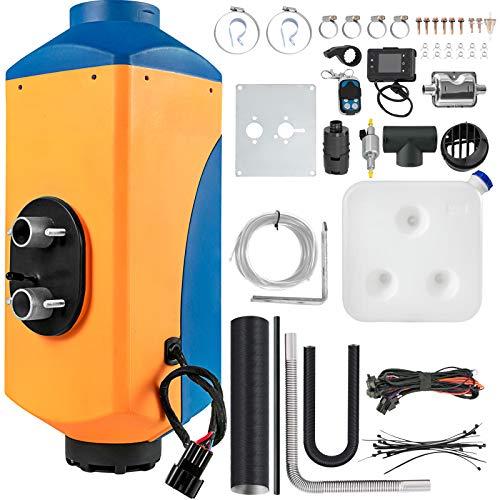 OldFe Standheizung diesel Luft Dieselheizung 12V 8KW für Auto LKW Wohnmobil Bus Orange und blau