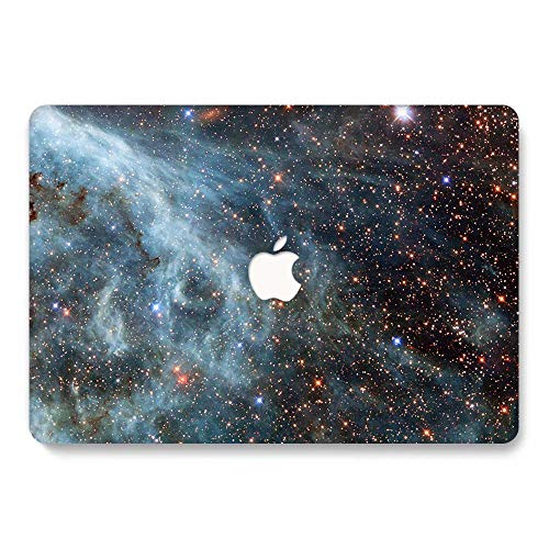 MacBook Pro 13 Case A1278 Release 2008-2012, Jiehb MacBook Protection Case for MacBook Pro 13 Inch with CD-ROM (NO Retina/Touch) Model: A1278 - Blue Star