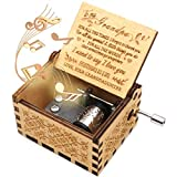 ukebobo Wooden Music Box- You are My Sunshine Music Box, from Granddaughter to Grandfather, Gifts...