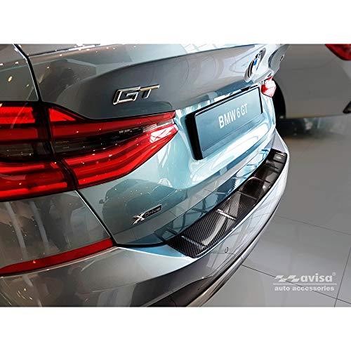"""günstig WARNUNG 2/49229 BMW 6er GranTurismo G32 Original 2017 Carbon Fiber 3D Heckstoßstangenschutz – """"Rib Vergleich im Deutschland"""