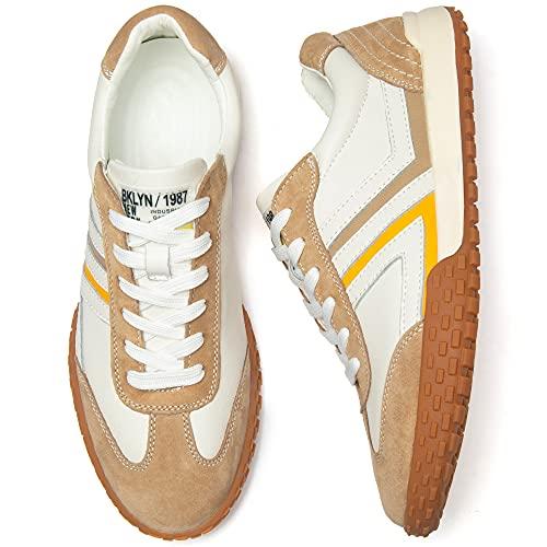 [NEARDREAM] カジュアルシューズ 革靴 カジュアルスニーカー メンズ カジュアル靴 おしゃれ 人気 本革 レースアップシューズ メンズシューズ 靴 カジュアル 紳士靴