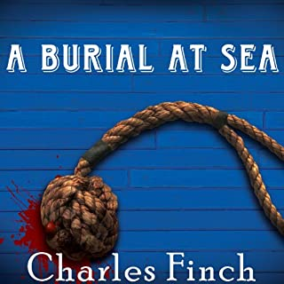 A Burial at Sea audiobook cover art