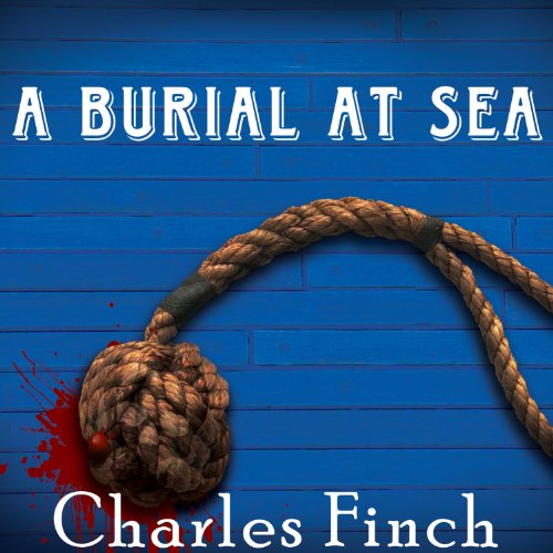 A Burial at Sea audiobook cover art