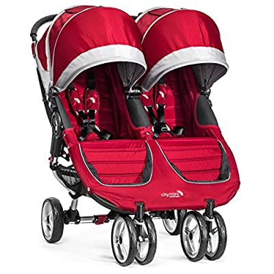 Baby Jogger City Mini Double Stroller - 2016 | Compact, Lightweight Double Stroller | Quick Fold Baby Stroller