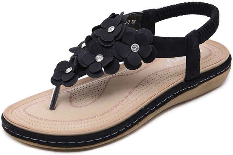 Women Platform Sandals Flip Flops Summer shoes Bohemia Flower Wild Casual Dress Ladies Footwear