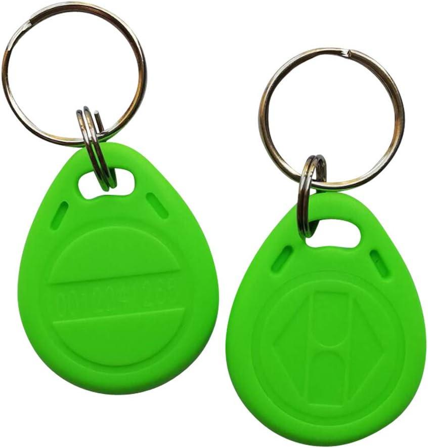10x Rfid Transpondeur Key Schlüssenanhänger 125kHz Puce Key EM4100 Jour Carte